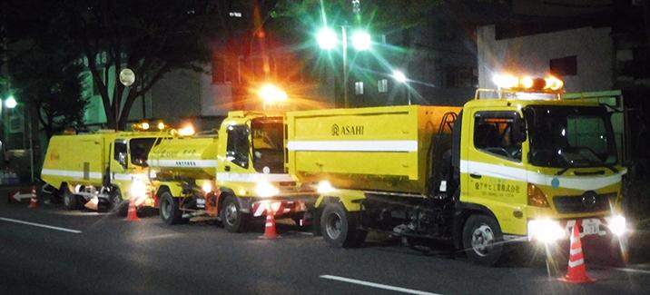 道路清掃業・公園管理